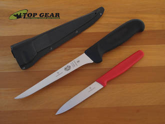 Victorinox Flexible Filleting Knife with Sheath - 57604