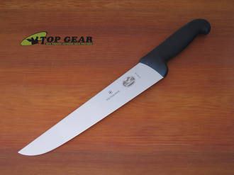 Victorinox Butchers Knife with Fibrox Handle, 26 cm Blade - 5.5203.26