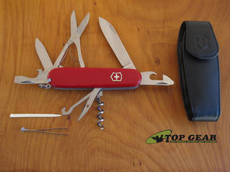 Victorinox Climber Swiss Army Pocket Knife, Red - 1.37033
