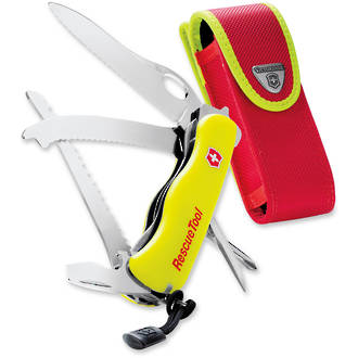 Victorinox Rescue Knife / Tool, Fluorescent Yellow - 0.8623.MWN