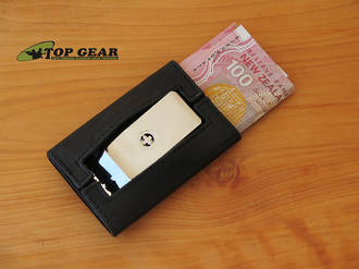 Wagner of Switzerland Leather Wallet with Money Clip - WA750