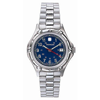 Wenger Womens Standard Issue Watch - Blue Dial 70228