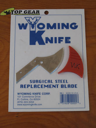 Wyoming Hunting Knife Surgical Steel Replacement Blade - RB-1