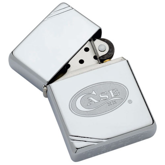 Zippo Case Brothers Lighter - High Polished Chrome 50063