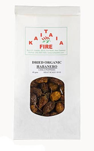 Kaitaia Fire Dried Organic Cayenne Chilli Pepper Flakes