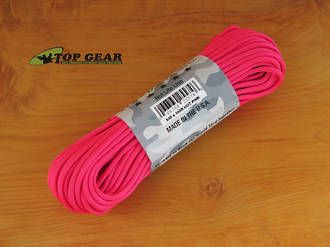 Atwood Rope Manufacturing 550 Paracord Rope,  Hot Pink - 25574
