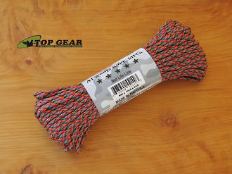 Atwood Rope Manufacturing 550 Paracord Rope, Lava 55149