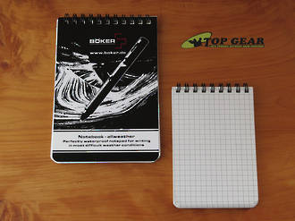 Boker Plus All Weather Waterproof Notebook - Small or Large