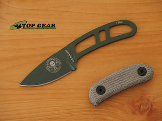 Esee Knives Canvas Micarta Handle Scales Candiru Knife Can