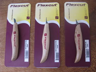 Flexcut Detail Carving Knife - 3 Models