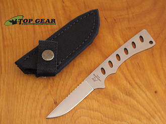 Katz Kitty Caper Bird and Trout Knife - Skeletonized Steel KZ5S