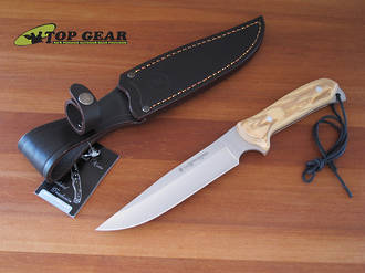Miguel Nieto Linea Road Runner Knife with Olive Wood Handle - 8904