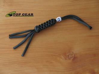 Paracord 550 Knife Lanyard with Skull Bead - Olive Drab PLOD