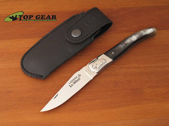 Robert David Laguiole Le Select Folder with Horn Handle - SO512CPR