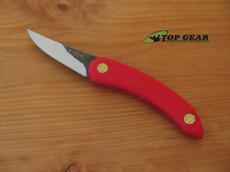 Svord Chip Thwitel Whittling / Carving Knife - Red