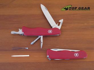 Victorinox Adventurer Swiss Army Pocket Knife Red 53601