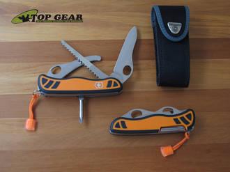Victorinox Hunter Xt Swiss Army Knife With Orange Handle