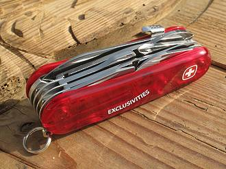 Wenger Evolution S 557 Exclusivites Swiss Army Knife Red