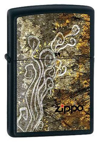 Zippo Anarchy Windproof Lighter Matte Black - 20808