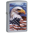 Zippo Mazzi Freedom Watch Windproof Lighter with American Eagle - 24764