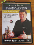 About-Wood Woodcarving with Mike Davies - Foundation Skills DVD