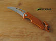 Antonini Ara XL SoS Rescue Knife, Orange Handle - AR5