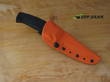 Armory Plastics Kydex Sheath for Mora Companion Knife with clip, Orange - AMPAB-8OR
