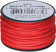 Atwood Rope Manufacturing Micro Cord, 125 ft Roll, Red - 11885