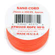 Atwood Rope Manufacturing Nano Cord - Neon Orange 40018