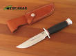 Bark River Boone Bowie Knife - A2 Tool Steel - 08-176M-BC