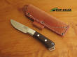 Bark River Woodland Special Knife, CPM-S35VN Stainless Steel, Green Canvas Micarta Handle Model 01-134M-GC