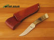 Bear and Son Skinner Knife - Ram Horn Handle RH82