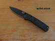 Benchmade Mini Bugout Folding Knife, S30V Stainless Steel, Black Handle, Diamond-like Carbon Coated - 533BK-2
