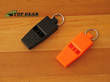 Best Glide Rapid Rescue Survival Whistle - Black or Orange