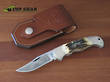Boker Classic Cinch Stag Hunter Knife - Stag 11CI2004ST