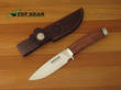 Boker Classic Carbon Steel Hunter Knife with Rosewood Handle - 120587