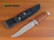 Boker Magnum Outback Field Knife with Leather Handle - 02MB704