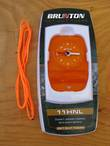 Brunton Compass with Safety Whistle - Orange