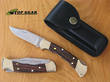 Buck 112 Ranger Finger Grooved Folding Hunter Knife - 112BRSFG-B