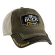 Buck 89075 Adjustable Logo Cap - Green and Yellow