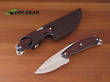 Buck Alpha Hunter Drop-Point Knife - Rosewood 194RWS-B