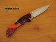 Buck Bantam BLW Folding Lockback Knife, Blaze Orange Camo - 285CMS9-B