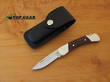 Buck Duke Folding Lockback Knife with Leather Sheath - 500RWS-B