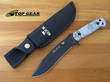 Buck Reaper Bushcraft Knife, Viper Snakeskin Pattern Handle - 620CMS15-B