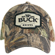 Buck Logo Baseball Cap with RealTree AP Camo Design - 89068