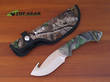 Buck Omni Hunter Avid Guthook Knife, Camo Handle - 394CMG-B