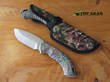 Buck Omni Hunter Drop-Point Hunting Knife, Camo 392CMS20-B