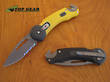 Buck Redpoint Folding Recue Knife - 0753YWK-X - Yellow or 0750BWX-B – Black
