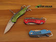 Buck Summit Pocket Knife - Red or Green