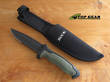 Buck Short Nighthawk Tactical Knife, Serrated Edge - 6550DX